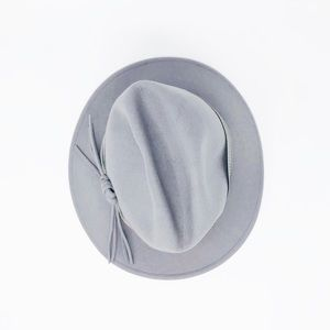 VINTAGE | Parisian Brookline Grey Wool Hat